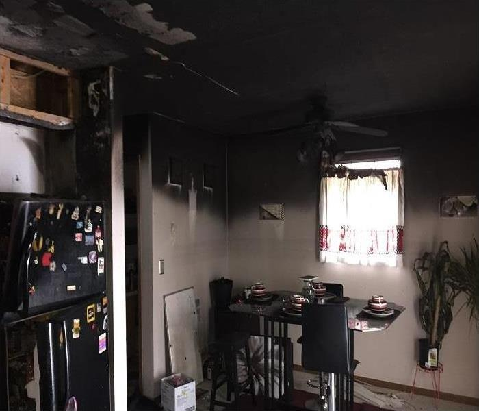 Reconstructed Kitchen after Fire  Before